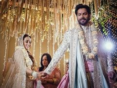 Varun Dhawan And Natasha Dalal Are Married. First Pic Of <I>Phera</i>s From Alibaug Wedding