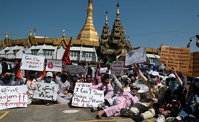 Myanmar's Anti-Coup Protesters Defy Crackdown With Humour