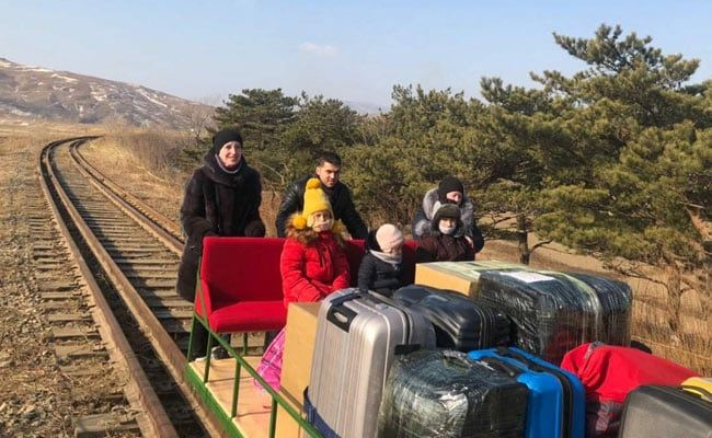 Why Russian Diplomats Returned From North Korea On Rail Trolley