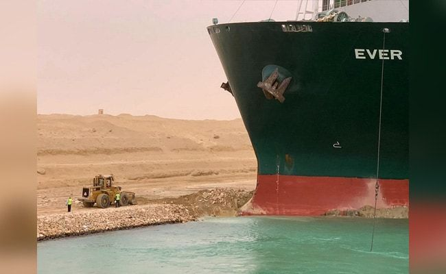 Suez Canal Could Be Blocked For Weeks By 'Beached Whale' Ship