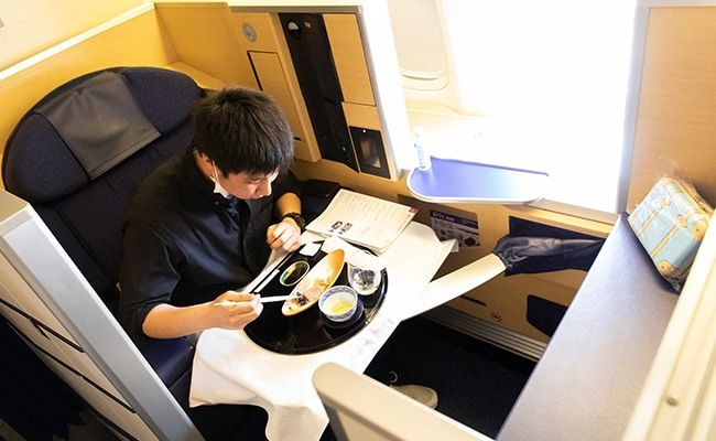 Japan Airline Offers Meals On Parked Planes To Travel-Starved Customers