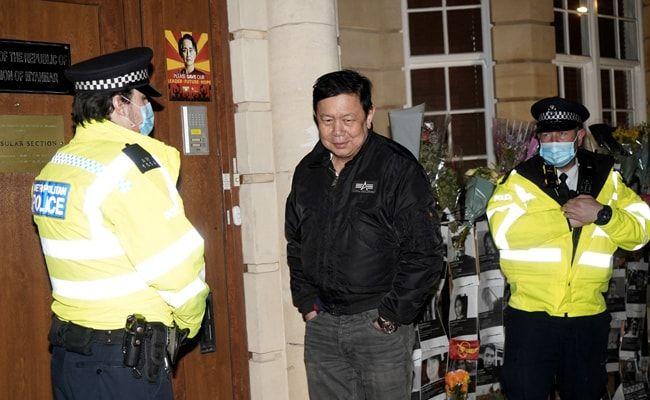 Myanmar UK Ambassador Says Military Attache Has 'Occupied' Embassy