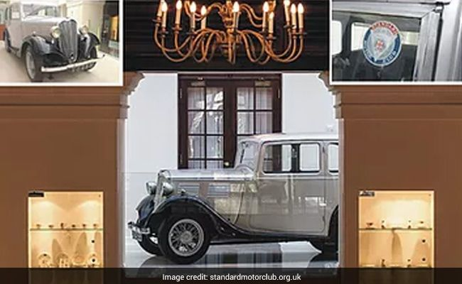 Prince Philip's 90-Year-Old Car Now Centrepiece Of Sri Lanka Museum