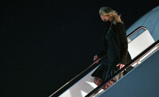 Jill Biden Pranks Staff, Press For By Disguising As Flight Attendant
