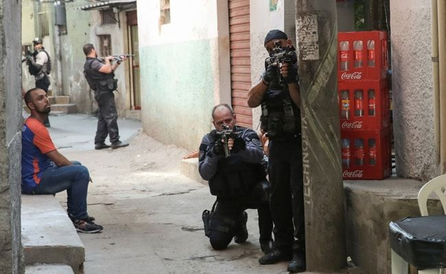 25 Killed, Including An Officer, In Brazil Shootout During A Police Raid
