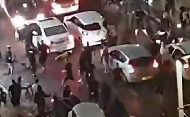 Mob Attacking Man They Believed To Be An Arab Aired Live On Israeli TV