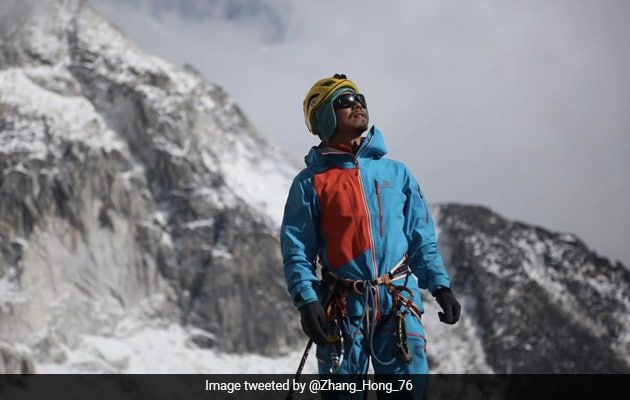 Chinese Climber Becomes First Blind Asian To Scale Mount Everest