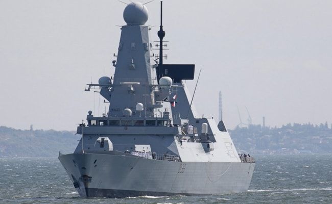 Britain Plays Down Black Sea Warship Incident With Russia