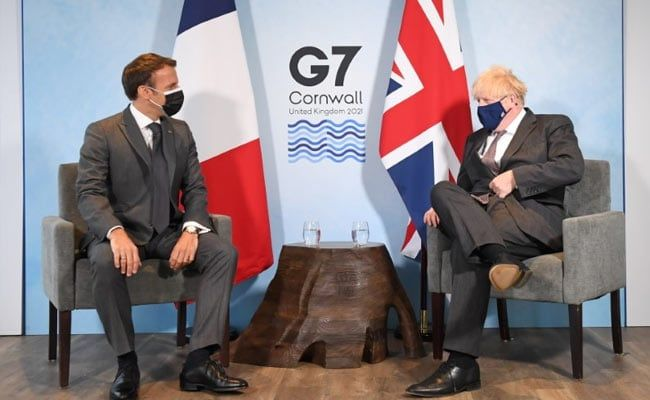 Emmanuel Macron Sparred With Boris Johnson Over Brexit Geography At G7