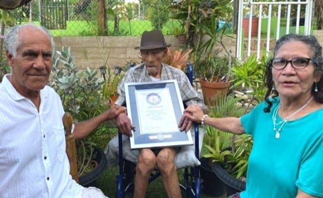 At 112, Puerto Rican Emilio Flores Marquez Is World's Oldest Living Man