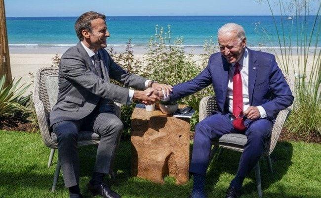 America Is Back Under Biden, Says France's Emmanuel Macron