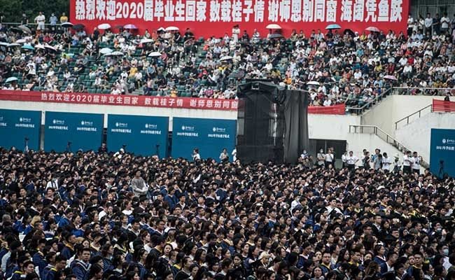 Masks Off, Gowns On: Wuhan Sheds Covid For Mass Graduation