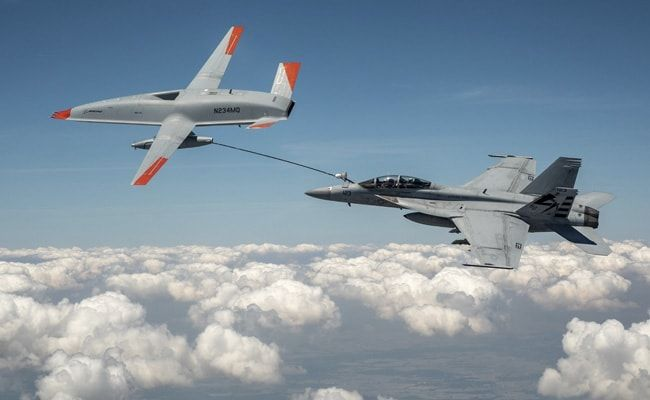 US Navy Uses Drone To Refuel Plane During Flight