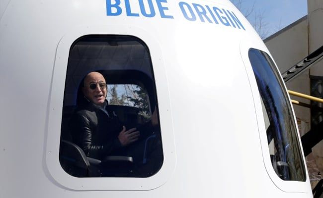 Trip To Space With Jeff Bezos Sells For $28 Million: Blue Origin