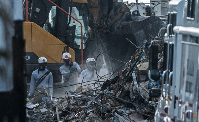 More Bodies Found In US Building Collapse As Search Enters Day Seven