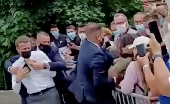 18-Month Jail Term Sought For Man Who Slapped France's Macron