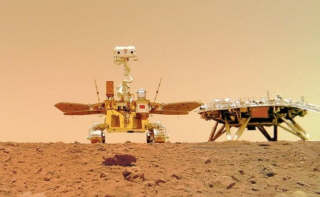 Rover 'Zhurong' Leaves 'China's Imprint' On Mars