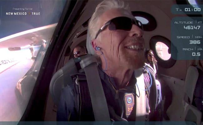 What Richard Branson Said After Jeff Bezos' Space Flight