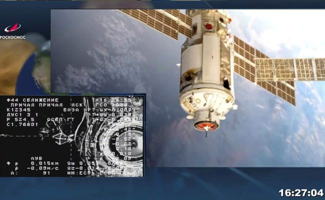 Russia's Nauka Space Module Experiences Problem After Docking With ISS: Report