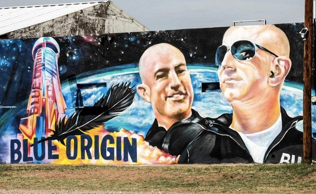 'Not Really Nervous': Billionaire Jeff Bezos Girds For Inaugural Space Flight