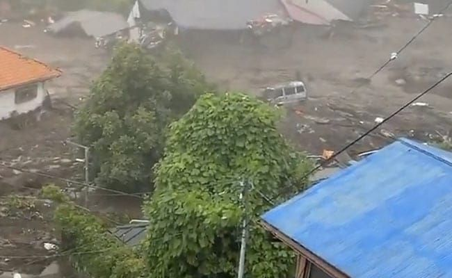 19 Missing As Landslide Engulfs Houses After Heavy Rain In Japan: Official