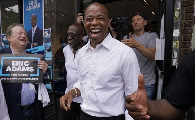 Ex-Cop Eric Adams Likely To Become New York's Next Mayor
