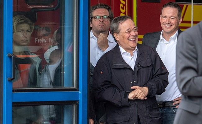 'Stupid, Regret It': German Leader On Laughing At Visit To Flood-Hit Town
