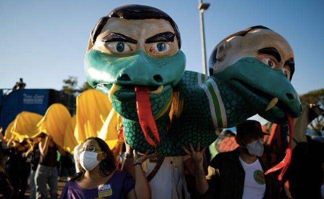 Thousands In Brazil Join Anti-Bolsonaro Protests Over Covaxin Deal