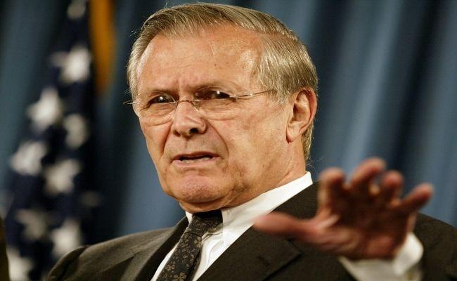 Donald Rumsfeld, Cocksure Architect Of Iraq War, Dead At 88