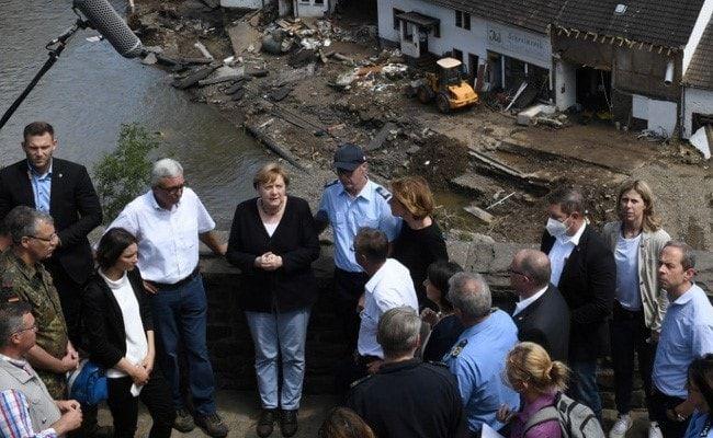 'Terrifying': German Chancellor Shaken As Europe Flood Deaths Rise To 188