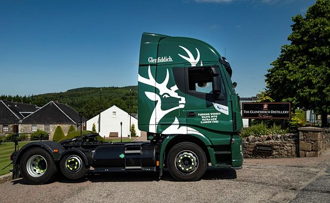 One For The Road: Glenfiddich Uses Whisky Waste To Fuel Trucks