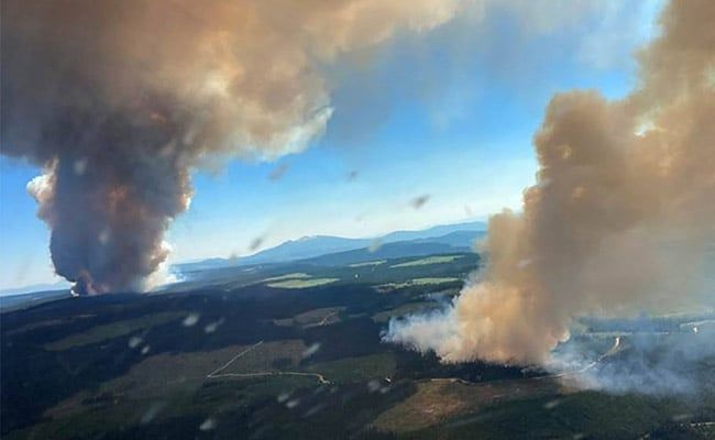 Hundreds Evacuated As Fires Add To Unprecedented Canada Heat Wave