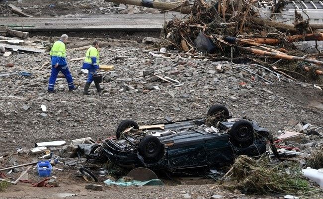 Flood Death Count Rises To 156 In Germany, 183 For Europe
