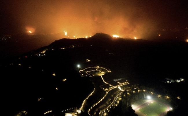 'Horrible Disaster': Hundreds Of Families Homeless As Greek Fires Rage