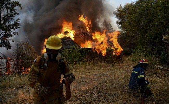 Dozen Homes Destroyed, 5 Hospitalised In Greece Forest Fire