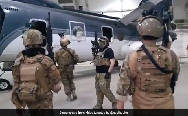 Video: Taliban Inspect US Choppers After American Forces Exit Afghanistan