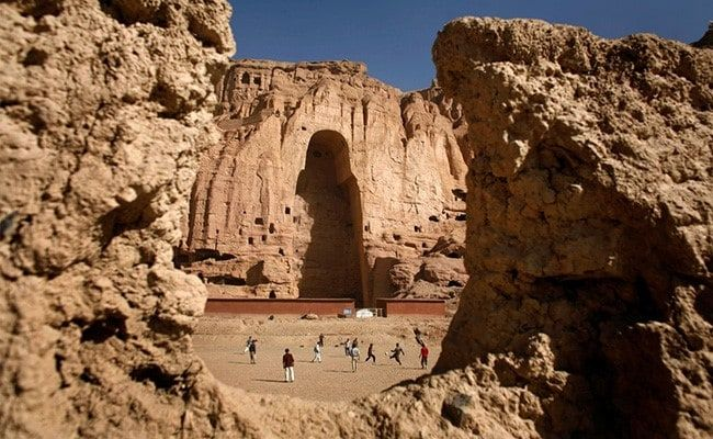 Taliban Now Guard Site Of Buddha Statues They Destroyed