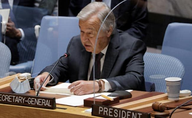 'Duty Towards Afghans': UN Chief Calls For 'Dialogue' With Taliban