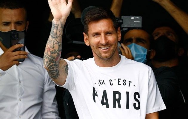 Lionel Messi Signs 2-Year Deal With French Club PSG After Leaving Barcelona