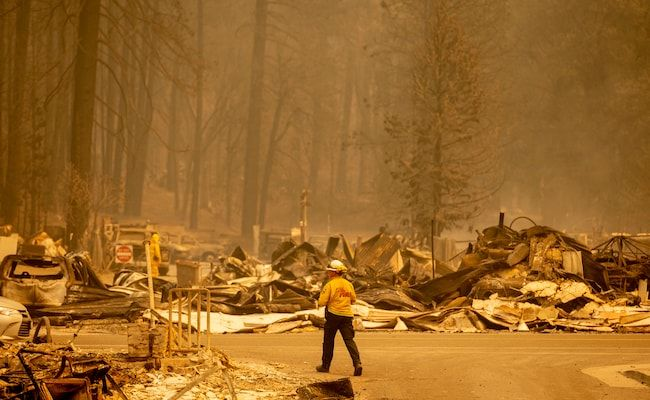 Evacuation Orders Widened As California Fire Spreads