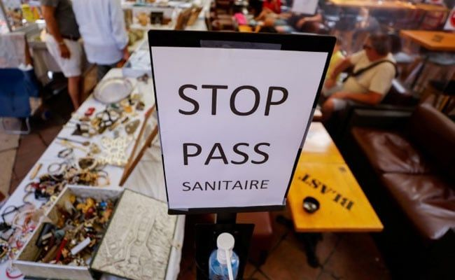 Covid Vaccine Centres Vandalised In France After Health Pass Introduced
