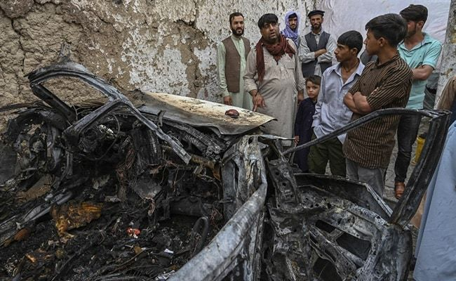 'Rocket Came, Hit Car Full Of Kids': US Strike Killed 10 Of Kabul Family
