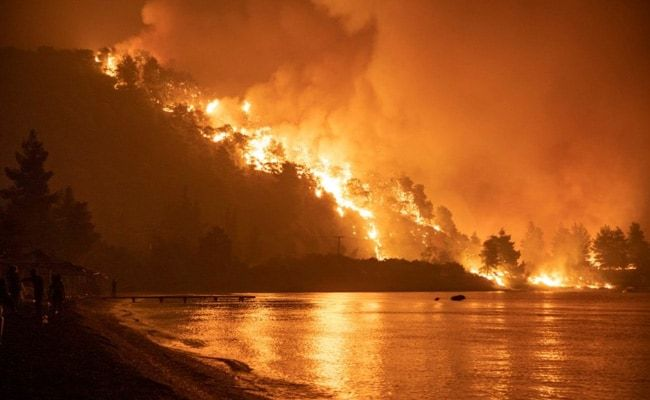 Greece Battles Wildfires For Fifth Day In 'Nightmarish Summer'