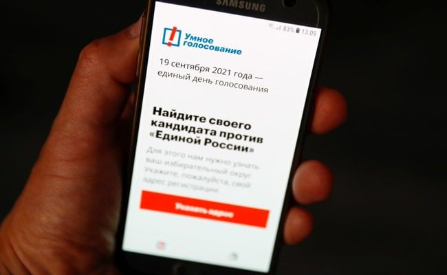 Putin Critic Navalny's App Removed From Google, Apple Stores Ahead Of Elections