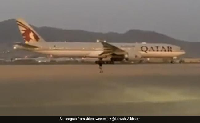 Qatar Flight With Afghans, Americans, Europeans Leaves Kabul: Official