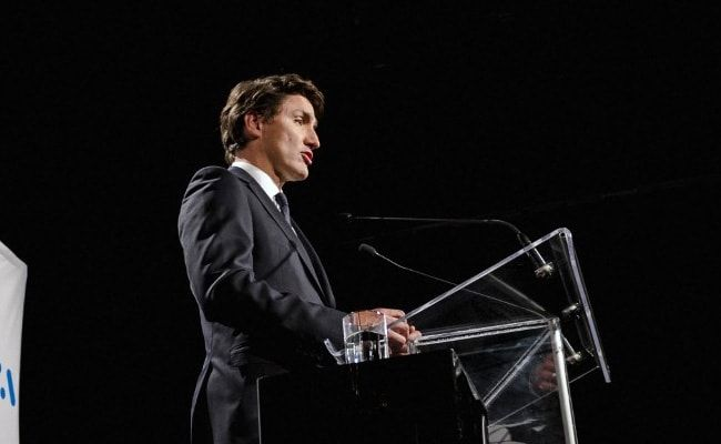 Justin Trudeau's Faltering Campaign For Re-Election Sees Stones Thrown At Him