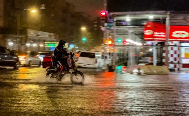 Emergency Declared In New York As Storm Ida Remnants Cause Huge Flooding