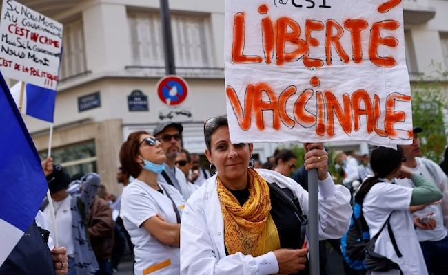 Over 120,000 Join Protests Against 'Health Passes' In France