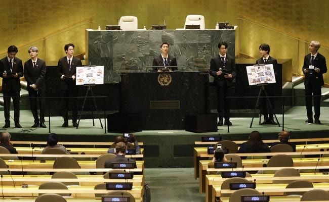 Watch: BTS Performs At UN, Promotes Youth Solutions For Planet