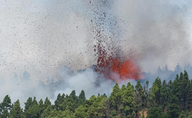 Volcano Erupts On Spanish Canary Islands, Evacuations Begin: Officials